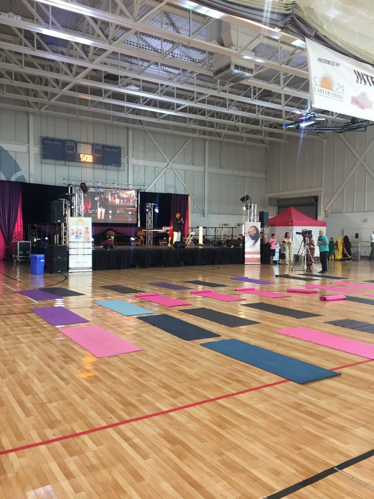 chiropractor yoga event