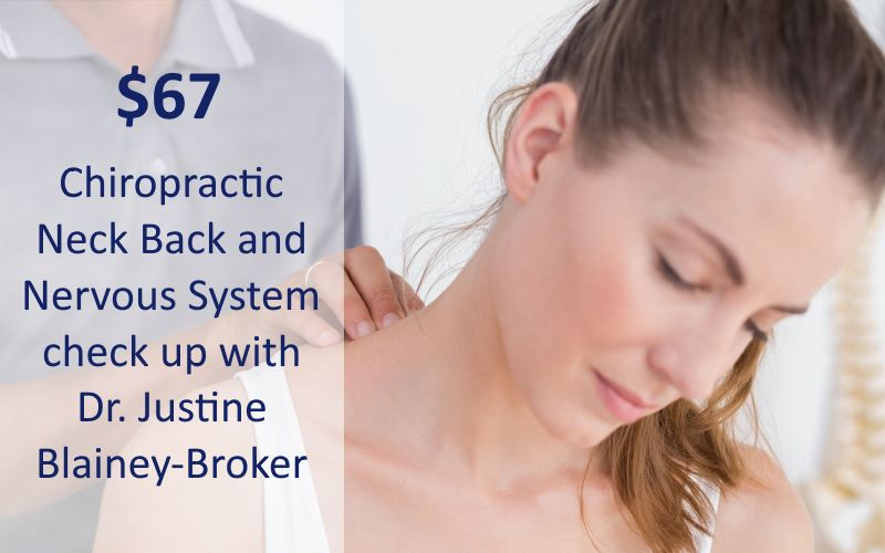 Chiropractic neck back and nervous system check up